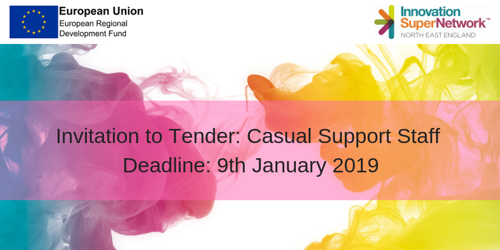 invitation to tender casual support staff innovation super network